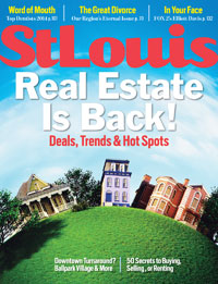 St Louis Magazine 5 Star Agent Award 2014 Edition